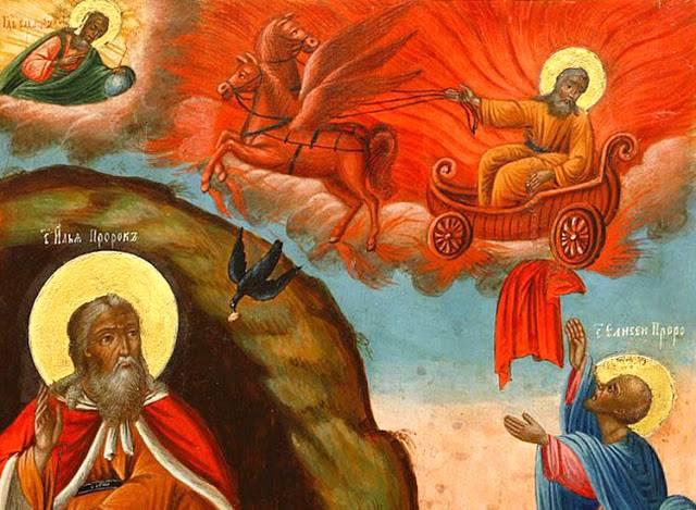 Rugăciune către Sfântul Prooroc Ilie Tesviteanul