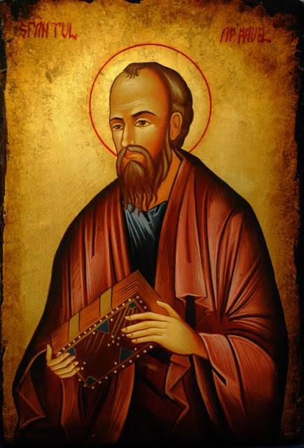 Un model de mustrare - Sf Pavel