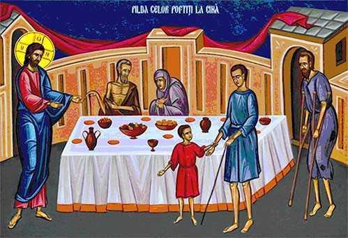 DUMNEZEU NE CHEAMĂ LA CINĂ - Duminica a XXVIII a dupa Rusalii