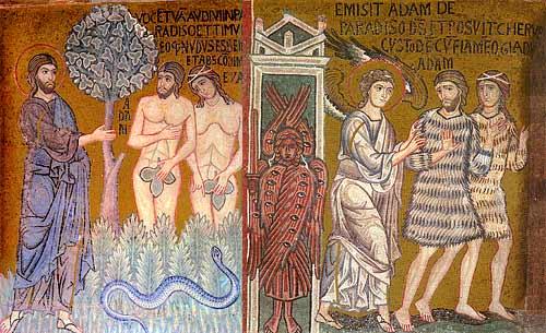 EVANGHELIA DUMINICII LĂSATULUI SEC DE BRÂNZĂ- (a Izgonirii lui Adam din Rai)