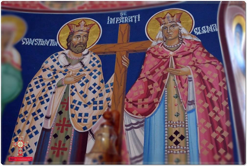 Sfintii Constantin si Elena - † Patriarh Daniel