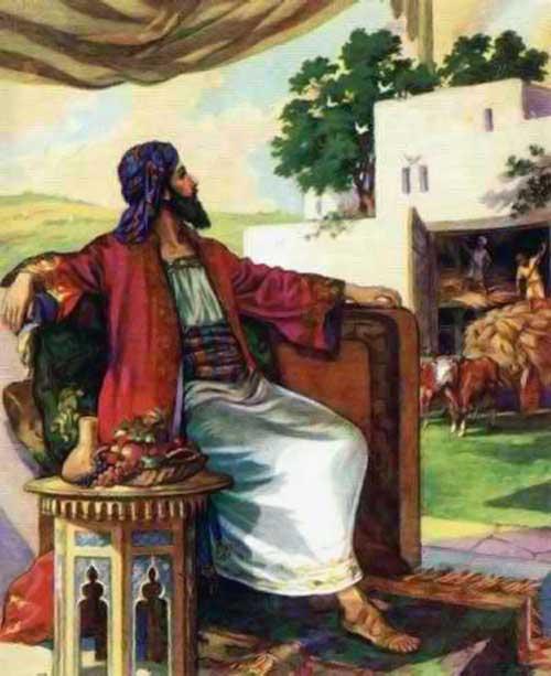Bogatul caruia ia rodit tarina-Sf Augustin de Florina