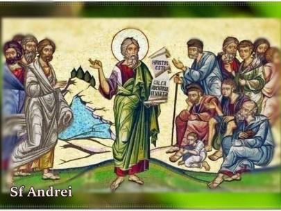Cel mai important moment-Apostolul Andrei