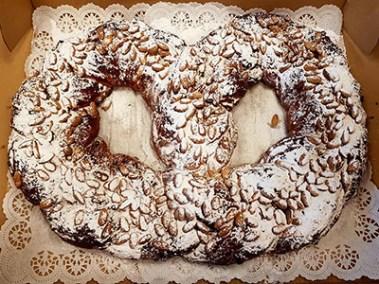 Sweet Latvian yeast dough