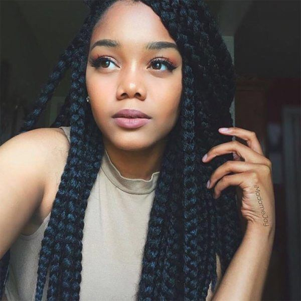 The 411 On Box Braids Why Theyre Great And How To Wear