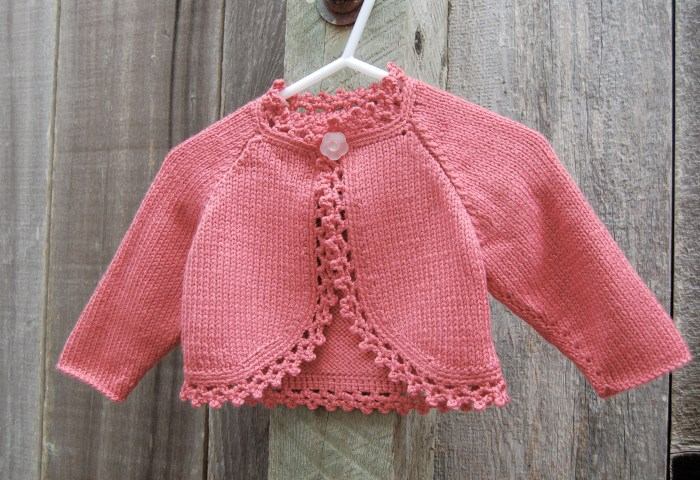 Finished Knitting Projects – Petersburg and Elly