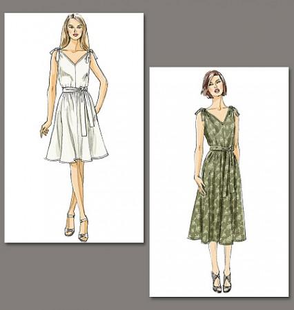 Vogue 8645 - A Dress!