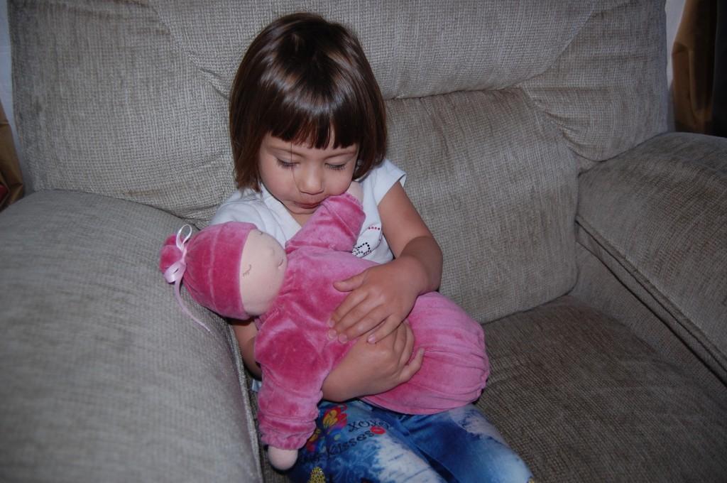 ana's heavy waldorf doll