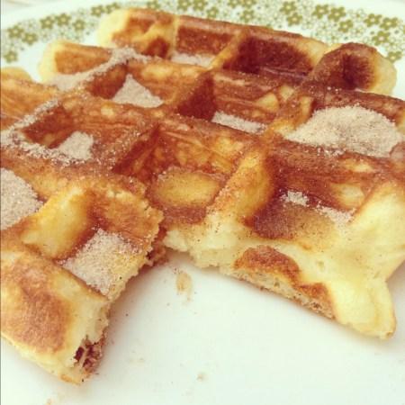 churro waffles recipe