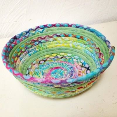 Fabric Coil Bowl