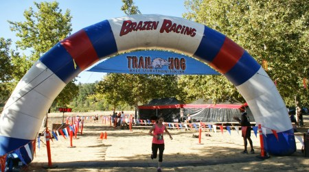 trail hog finish