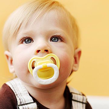 Child with Pacifier