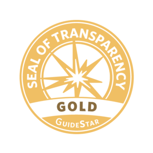 GuideStar Gold Seal of Transparency, no background