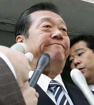 幹事長時代の小沢さん