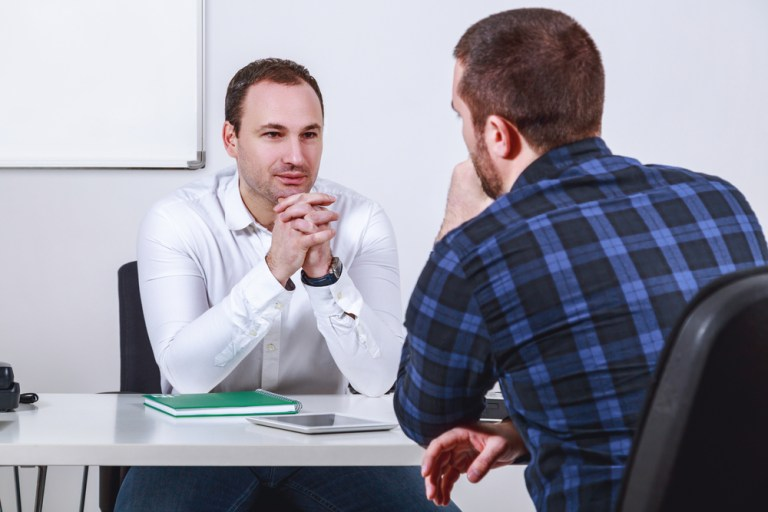 interviu de angajare