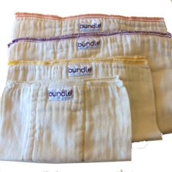 100% Certifed Organic Cotton Prefolds