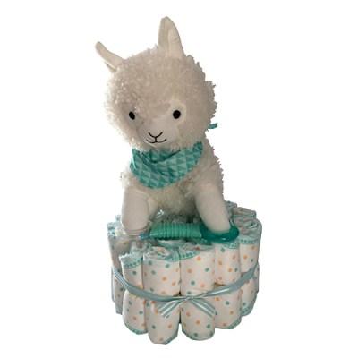 Lamb nappy cake
