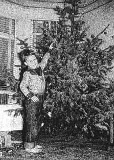 Decorate tree 1953