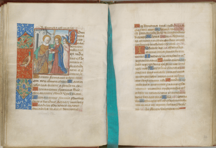 A 14th century French Book of Hours