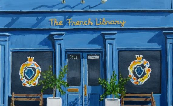 The French Library in New Orleans, LA