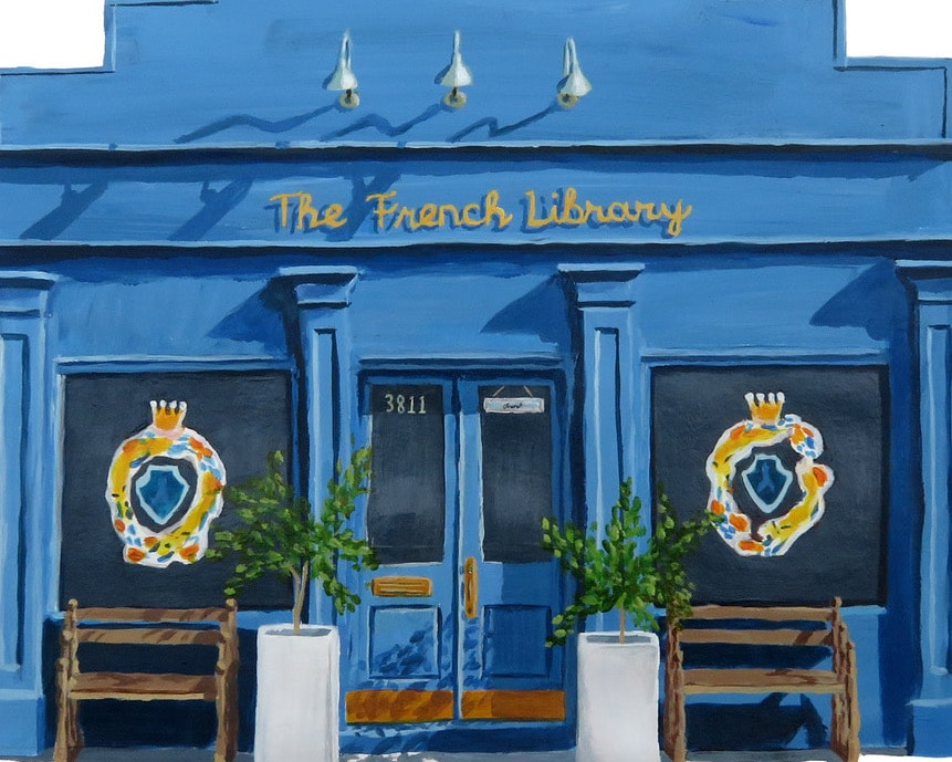The French Library is a luxury children's shop in New Orleans, catering to the idea that each child is special and extraordinary in their own way.