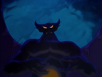 """Chernabog, the demon from """"A Night on Bald Mountain"""" from Disney's """"Fantasia"""" (Screen capture from Disney's """"Fantasia"""")"""