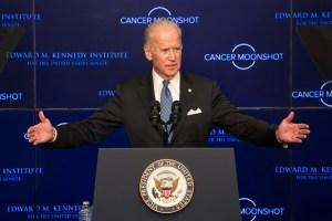 Vice President Joe Biden on the Cancer Moonshot Initiative at Edward M. Kennedy Institute