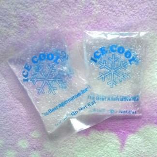 jual ice gel mini masker kefir