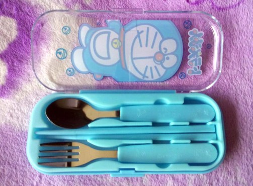 Sendok Anak Cartoon Stainless Steel Cutlery ALL