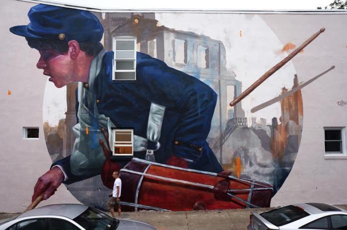 """Glory"" Civil War Union drummer boy"