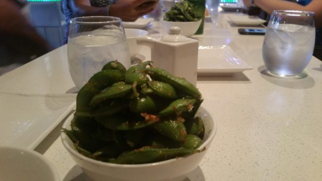 Third stop, Shari Sushi. Started with edamame.