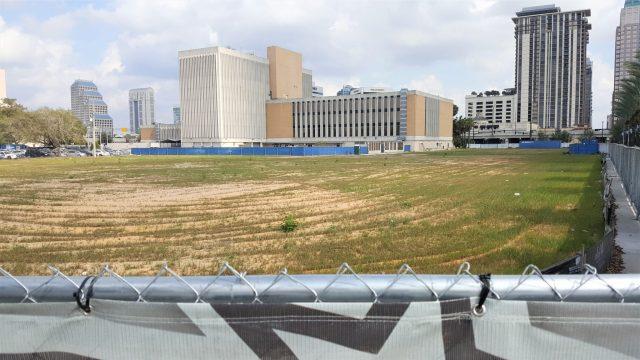 Future home of the Orlando Magic Entertainment Complex