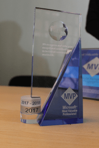 Microsoft MVP Trophy