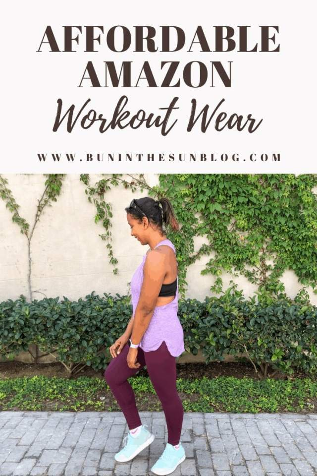 Affordable Amazon Workout Wear