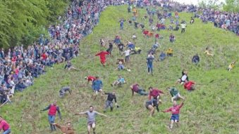 Reel History – The Cheese-rolling Folk Tradition of Gloucestershire