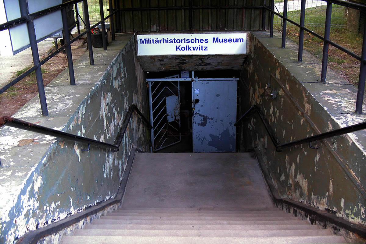 Eingang Schutzbauwerk