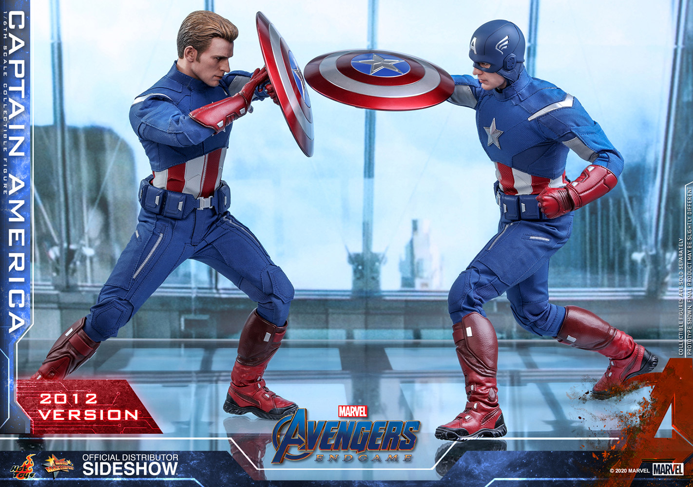 Captain America 20 Version Sixth Scale Figure by Hot Toys ...