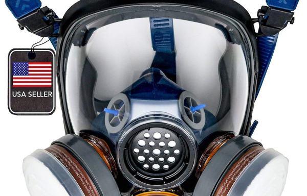 PD-100 Full Face Organic Vapor Respirator