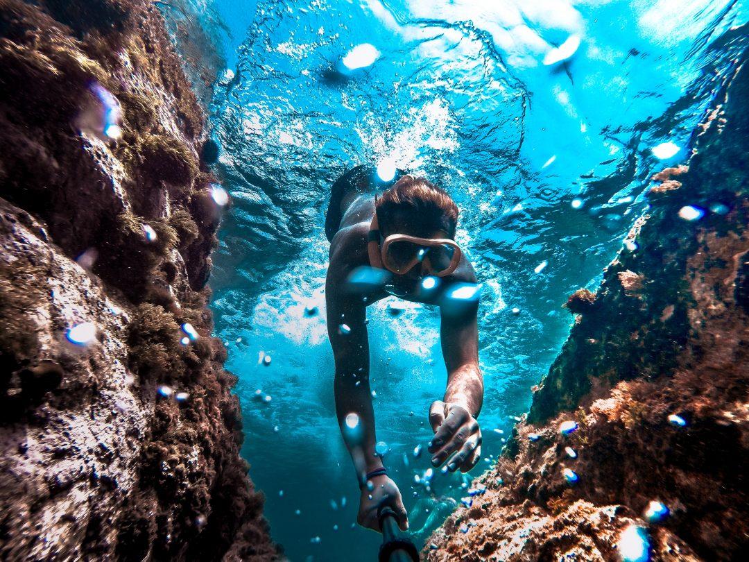 best-snorkeling-near-barcelona-illes-medes-selfie