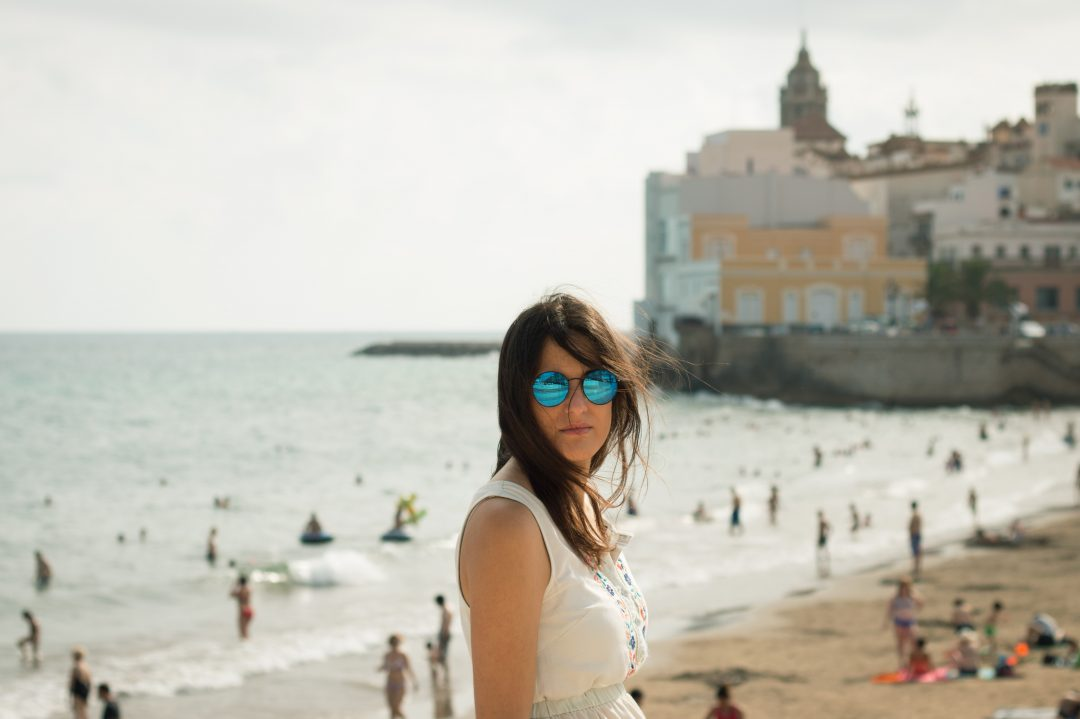 the-route-of-fate-girl-sitges-beach