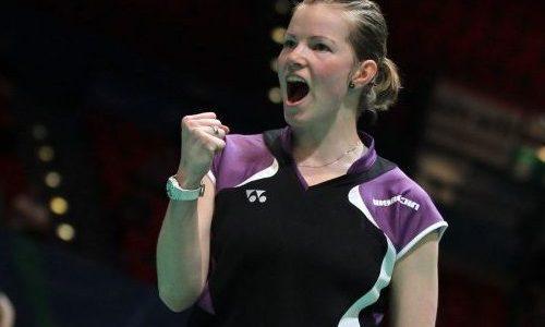 クリスティナペデルセン(デンマーク)バドミントン選手が可愛い!