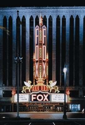The Fox Theater in Detroit, where Berigan had many successes in the late 1930s.