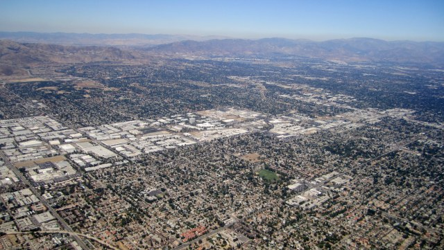 The Scenic Route Through The San Fernando Valley by Nick Roth