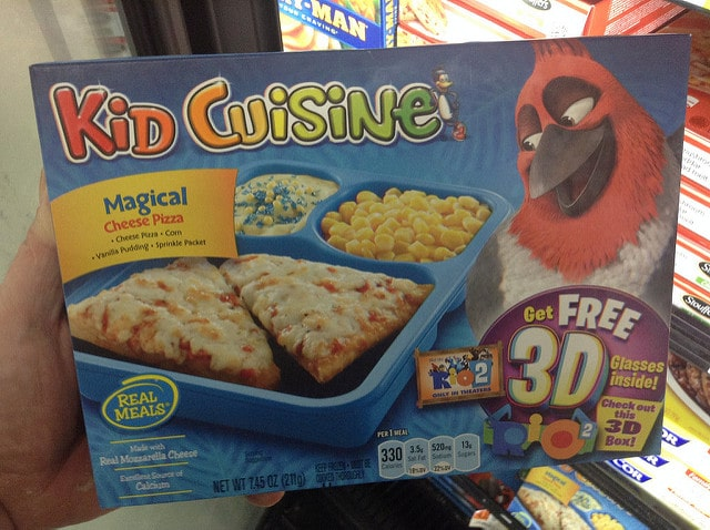 kid cuisine pizza