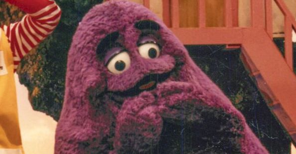 how to look like the Grimace