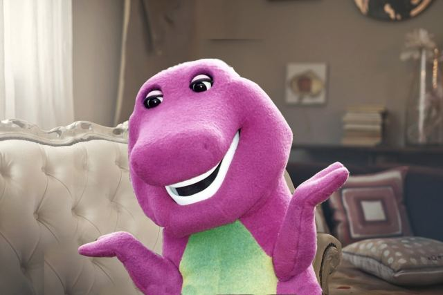 Barney the Dinosaur on Shopping, Sex, and his Purple Glow