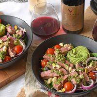 Festive Lamb Salad