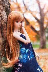 smartdoll, mirai suenaga, anime doll, doll, canada, autumn
