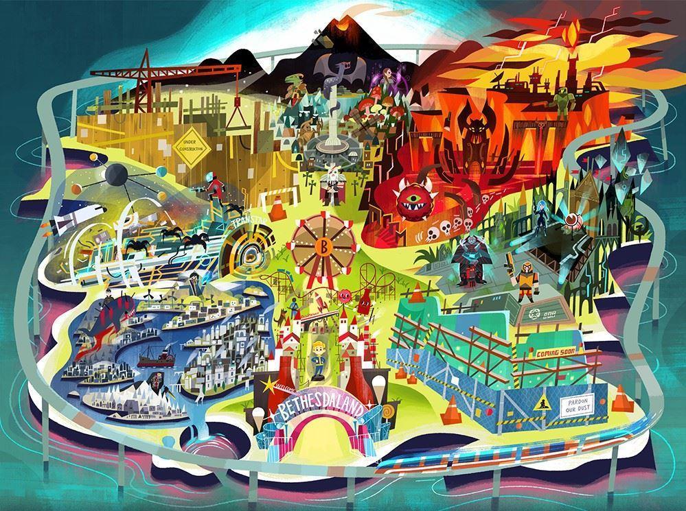Bathesda E3 2017 Invite