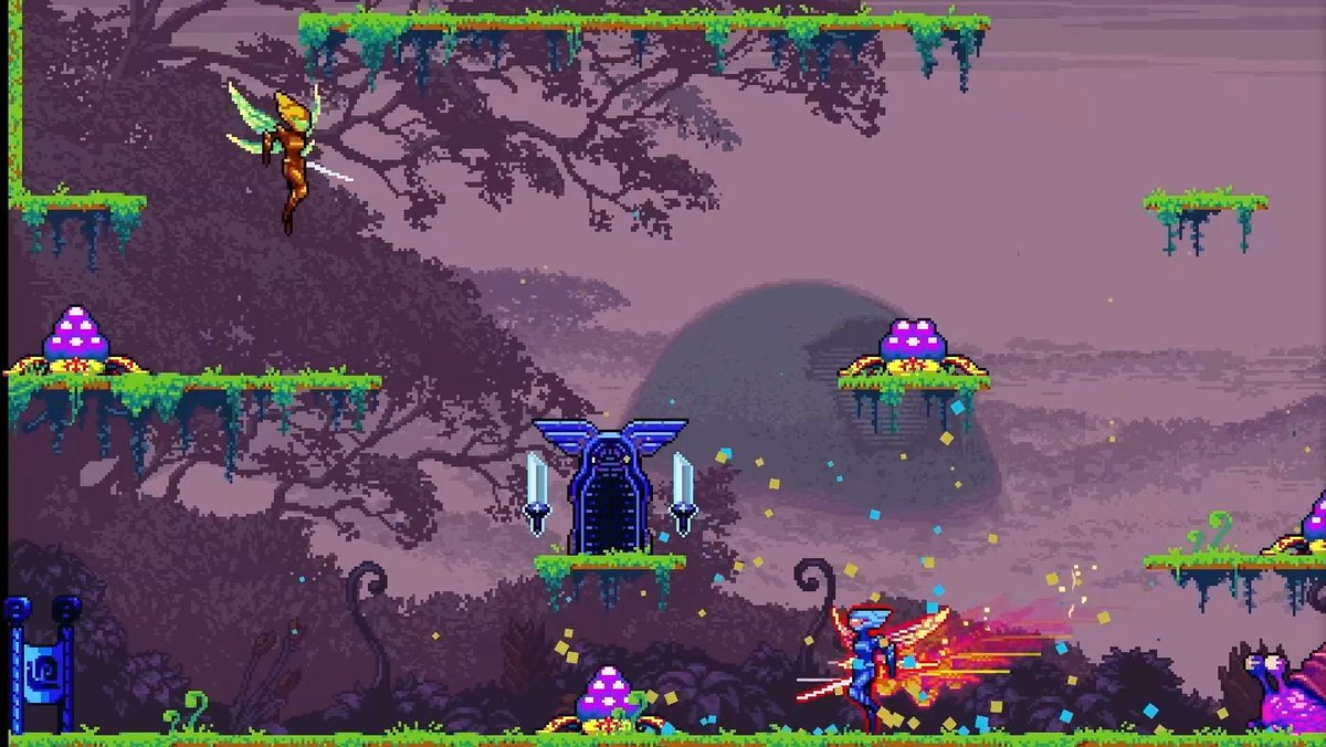 Arcade action platformer Killer Queen Black buzzes to Switch
